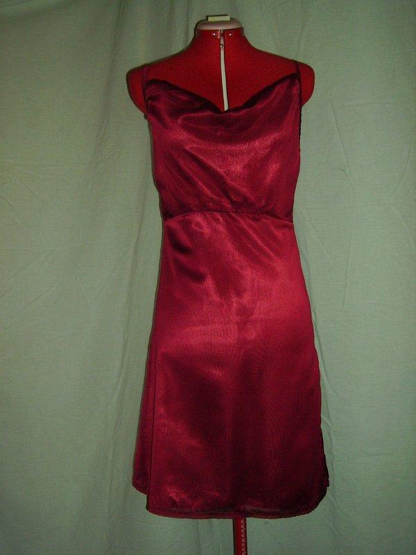 robe en mousseline bordeaux dans robe de soiree IMGP0493